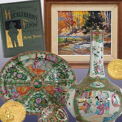 June 17 Estate Fine Art & Antique Auction - Online Only by Bruneau & Co. Auctioneers