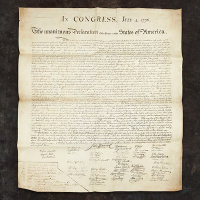 This Important State Paper: Charles Carroll's Copy of the Declaration of Independence by Freeman's