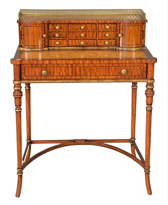 Continental Furniture, Custom Mahogany, Decorative Accessories and Art by Nadeau's Auction Gallery