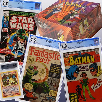 September Comic TCG & Toy Auction by Bruneau & Co. Auctioneers