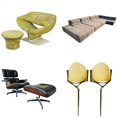 October Art-Decor-Furniture, NO RESERVE by Cain Modern Auctions
