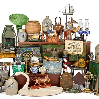 Online Only Decorative Arts by Pook & Pook Inc.