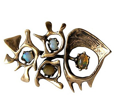 A Collection of  Mid Century Modern Jewelry by Lisa Cliff Collection