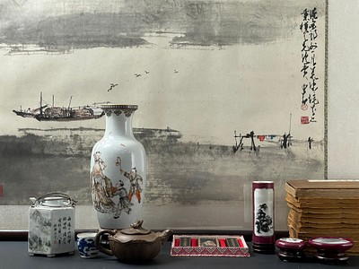 Fall Fine Art and Antiques by China Luban Art and Antique Inc.