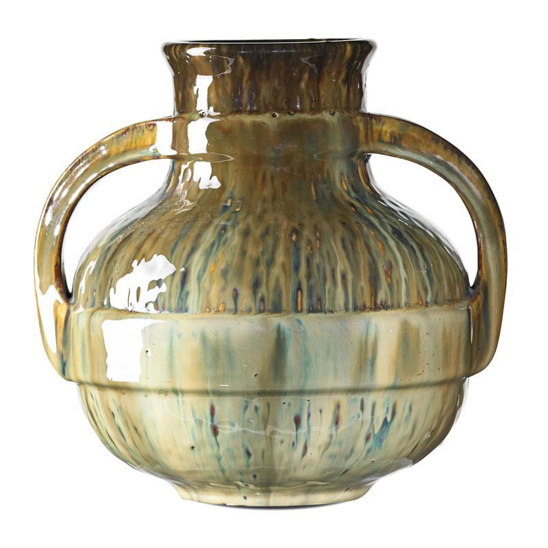 Fulper Two Handled Vase Bidsquare