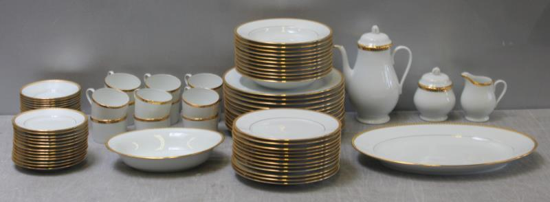 Gold Band  Limoges Dinner Set | Bidsquare & Tiffany u0026 Co.
