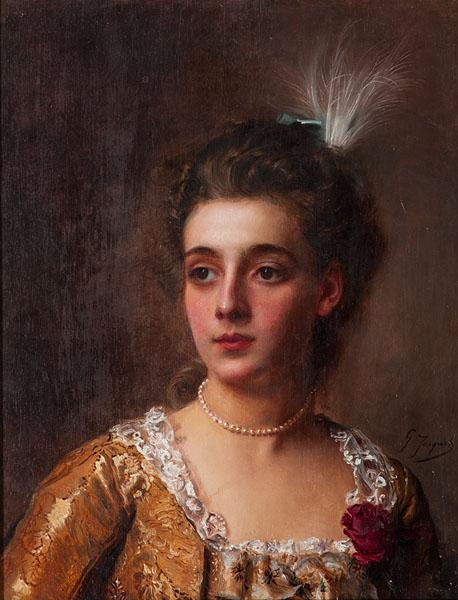 Gustave Jean Jacquet (French, 1846-1909) by Cowan\'s Auctions Inc ...