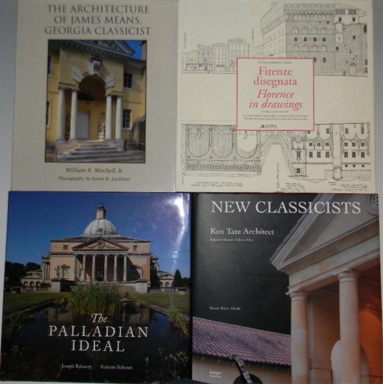 4 classical architecture reference books bidsquare
