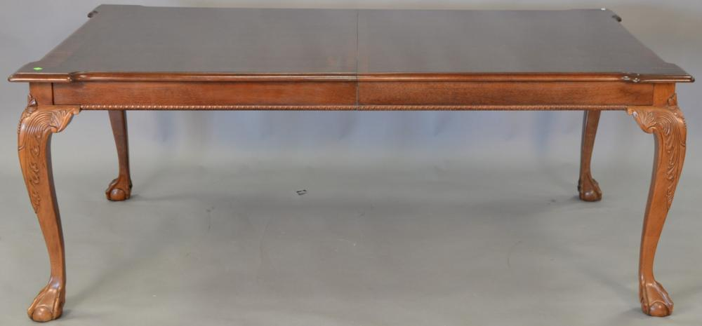 stoneleigh mahogany banded inlaid dining table having reticulated 24 Inch Dining Table