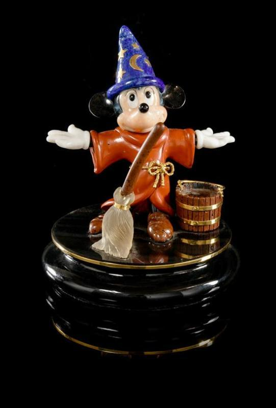 A Gemstone Mickey Mouse \