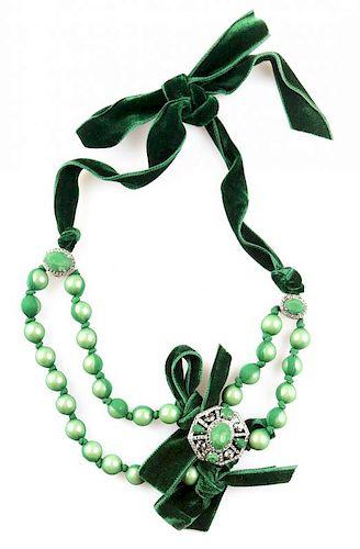 A Lanvin Paris Necklace