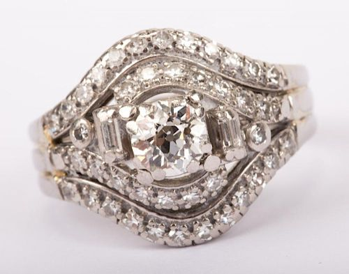 A Vintage Diamond Ring by Jabel