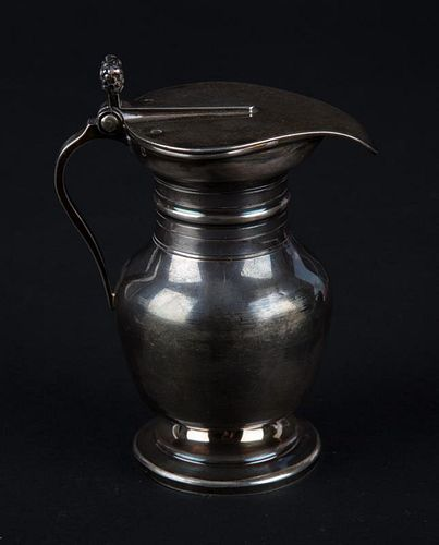 French silver syrup pitcher circa 1878