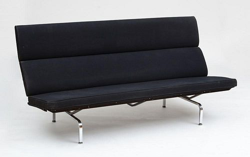 """CHARLES AND RAY EAMES FOR HERMAN MILLER, COMPACT"""" SOFA"""""""