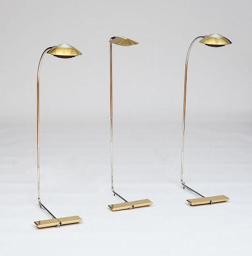 THREE CEDRIC HARTMAN FLOOR LAMPS
