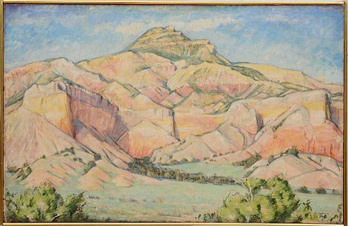 MAURICE GROSSER (1903-1986): STAGHORN MESA, NEW MEXICO