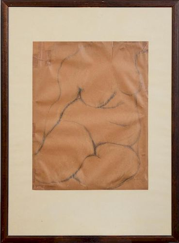 JARED FRENCH (1905-1988): STUDY OF A FEMALE NUDE