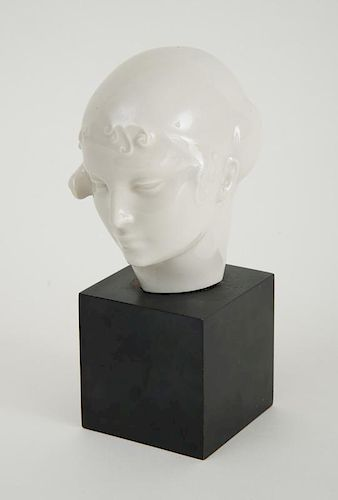 CARL PAUL JENNEWEIN (1890-1978): HEAD OF A YOUNG WOMAN