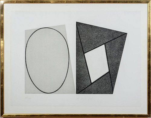 ROBERT MANGOLD (b. 1937): FRAMES AND ELIPSES (A, B AND C)