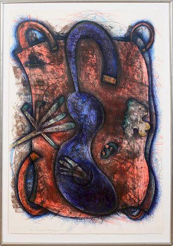 ELIZABETH MURRAY (1940-2007): BLUE BODY