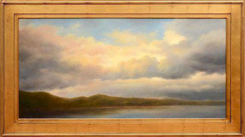 JANE BLOODGOOD-ABRAMS (b. 1936): DRAMATIC SKY