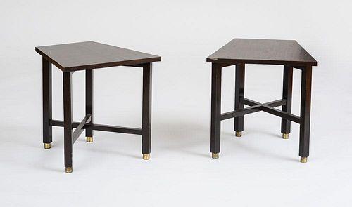 DUNBAR, PAIR OF END TABLES
