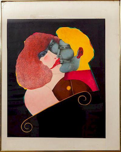 RICHARD LINDNER (1901-1978): THE KISS