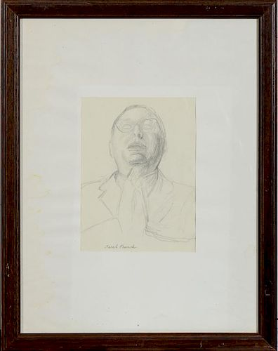 JARED FRENCH (1905-1988): PORTRAIT OF A MAN