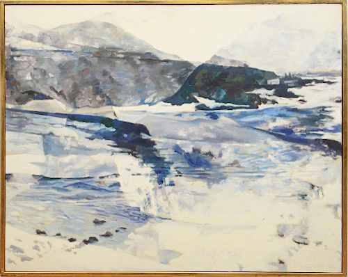 BALCOMB GREENE (1904-1990): LANDSCAPE AND THE SEA