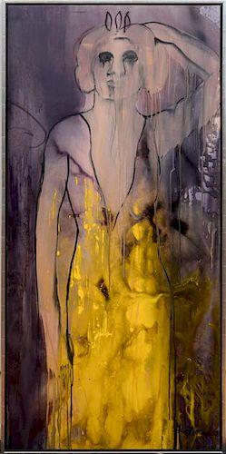 GRACE HARTIGAN (1922-2008): SEMIRAMIS