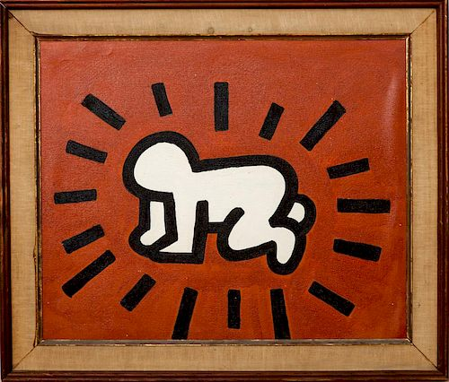IN THE MANNER OF KEITH HARING: FIGURE