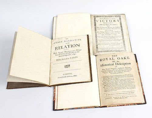 An interesting group of three Civil War/Commonwealth-related propaganda pamphlets Comprising: Civil