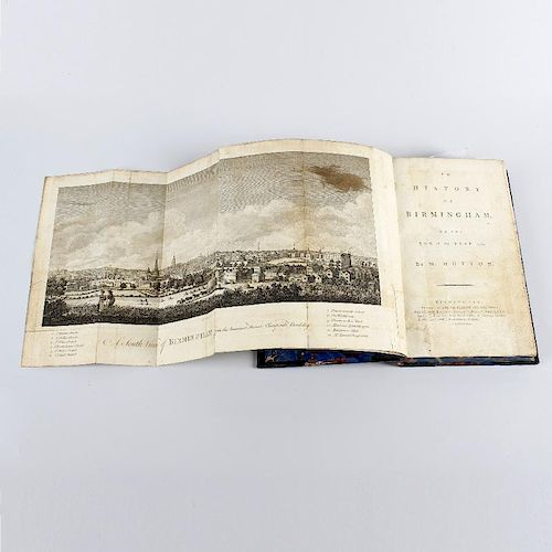 William Hutton, 'An History of Birmingham to the end of the year 1780', Pearson & Rollason, 1781, wi