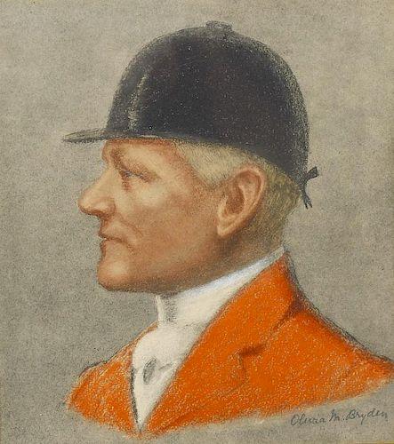 Olivia M. Bryden (early 20th century)Profile portrait of Major Morland John Grieg, Master of the Dev