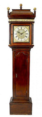 A George III oak cased 30-hour longcase clock. Henry Payton, Bromsgrove, circa 1760. The 11-inch squ