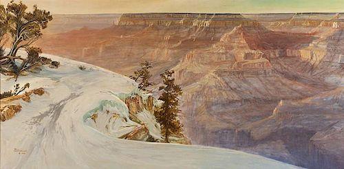 Phil Nethercott | b. 1951 | Grand Canyon - Winter