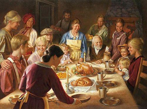 Alfredo Rodriguez | b. 1954 AICA | A Happy Thanksgiving