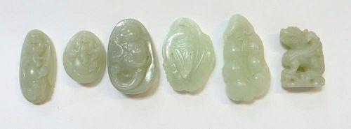 Assorted Jade Pendants