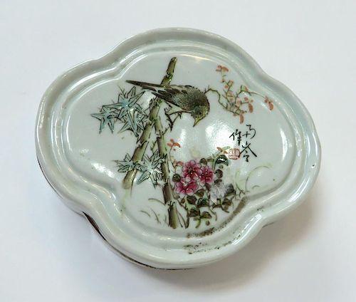 Porcelain Ink Box