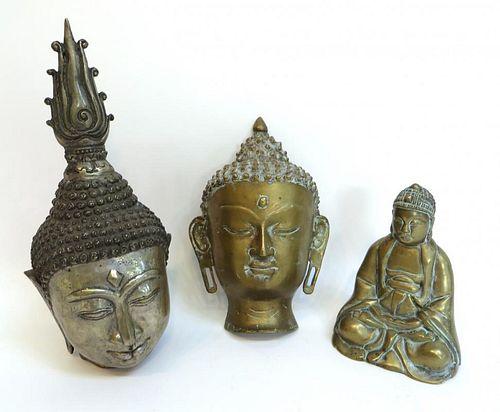 Three Buddha Castings