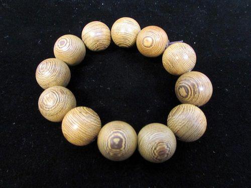Chinese Wood Bracelet