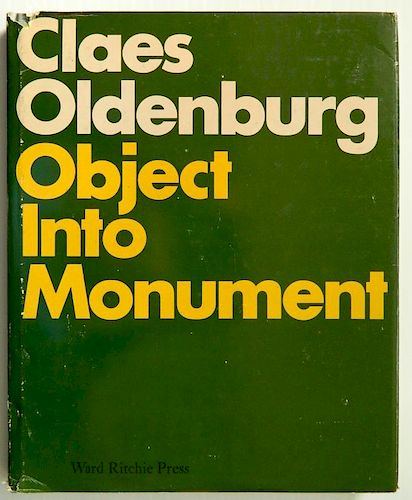 Haskell- Claes Oldenburg Object Into Monument