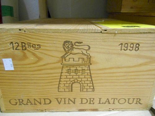 Chateau Latour, Pauillac 1er Cru 1998, twelve bottles in owc (ex. The Wine Society) <br>