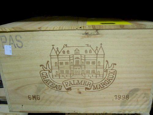 Chateau Palmer, Margaux 2eme Cru 1998, six magnums in owc (ex. The Wine Society) <br>