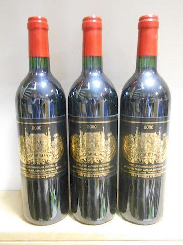 Chateau Palmer, Margaux 3eme Cru 2000, six bottles (ex.The Wine Society) <br>
