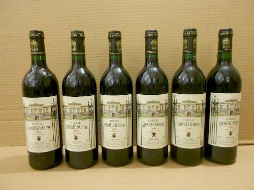 Chateau Leoville Barton, St Julien 2eme Cru 1990, twelve bottles. Removed from a college cellar <br>