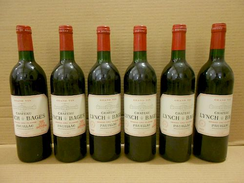 Chateau Lynch Bages, Pauillac 5eme Cru 1985, twelve bottles. Removed from a college cellar <br>