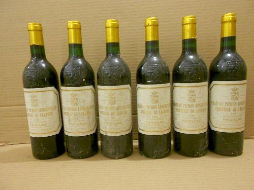 Chateau Pichon Longueville, Comtesse de Lalande, Pauillac 2eme Cru 1989, twelve bottles. Removed fro