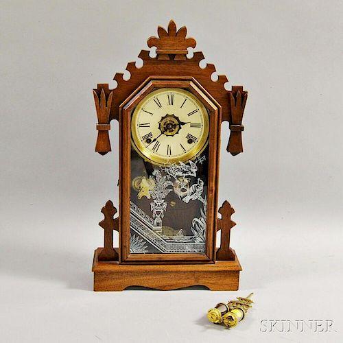 Ansonia Gingerbread Clock
