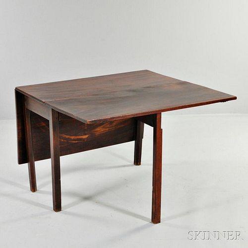 Regency-style Mahogany English Drop-leaf Table